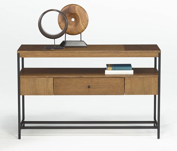 Viero Place Transitional Wood Metal Sofa Table PRG-P532-05