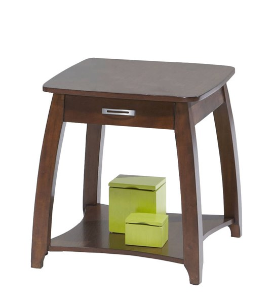 Brentwood Contemporary Rectangular End Table PRG-P538-04