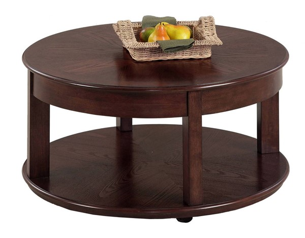 Progressive Furniture Sebring Round Cocktail Table PRG-P543-48