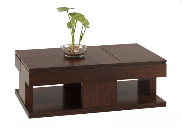 Progressive Furniture Le Mans Mozambique Double Lift Top Table PRG-P561-25