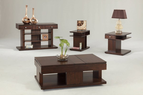 Le Mans Contemporary Mozambique MDF Coffee Table Set PRG-P561-OCT