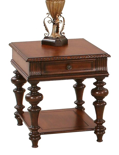 Progressive Furniture Mountain Manor Brown End Table PRG-P587-04