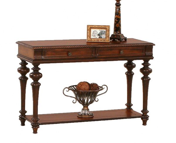 Mountain Manor Traditional Heritage Cherry Wood Sofa Table PRG-P587-05