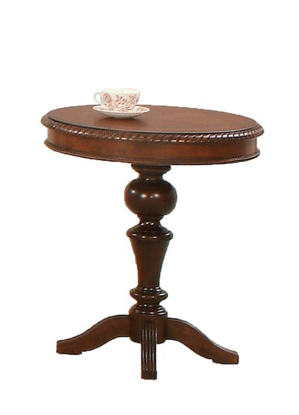Mountain Manor Traditional Heritage Cherry Wood Chairside Table PRG-P587-29