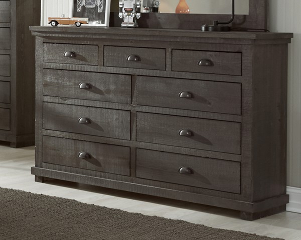 Progressive Furniture Willow Gray Dresser PRG-P600-23