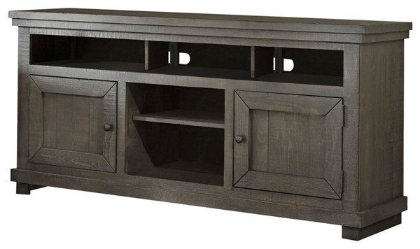 Progressive Furniture Willow Distressed Dark Gray 64 Inch Console PRG-P600E-64
