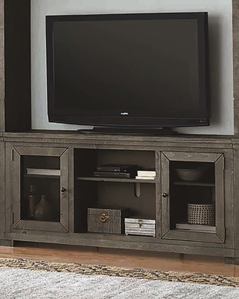 Progressive Furniture Willow Distressed Dark Gray 68 Inch Console PRG-P600E-68