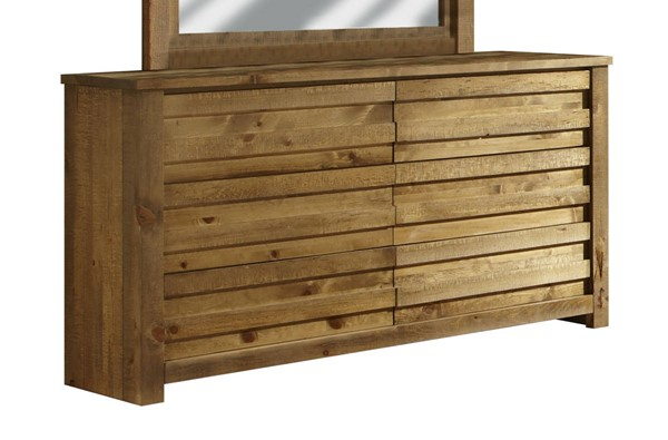 Progressive Furniture Melrose Driftwood Drawer Dresser PRG-P604-23