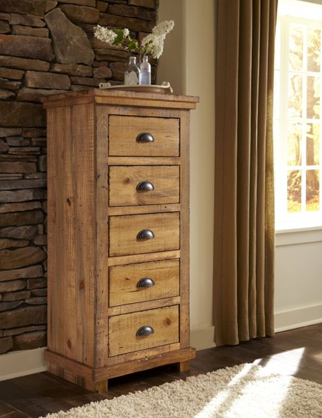 Willow Casual Distressed Pine Wood Lingerie Chests PRG-P608-13-VAR