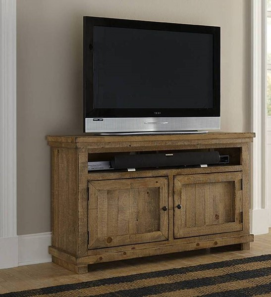 Progressive Furniture Willow Distressed Pine 54 Inch Console PRG-P608E-54