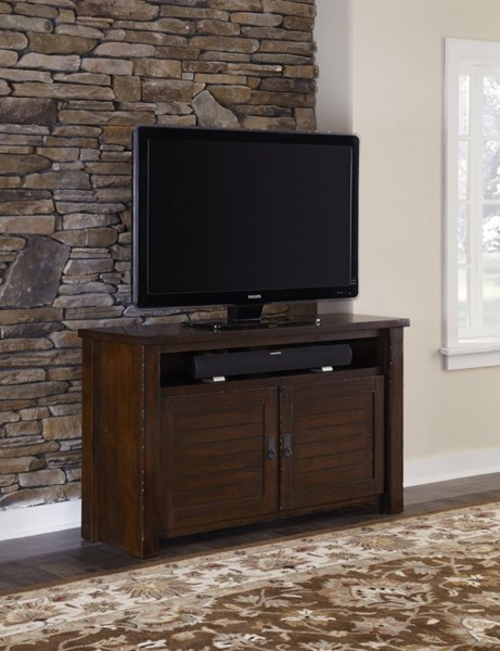 Progressive Furniture Trestlewood Brown 54 Inch Console PRG-P611E-54