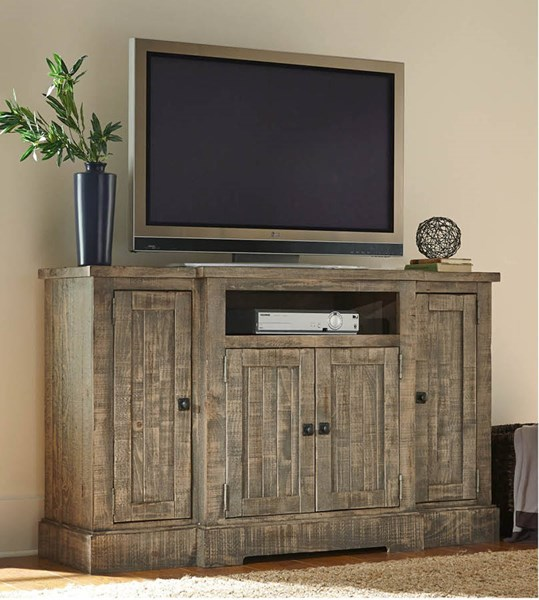 Progressive Furniture Meadow Weathered Gray 60 Inch Console PRG-P632E-60