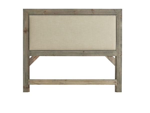 Progressive Furniture Willow Weathered Gray Full Upholstered Headboard PRG-P635-32
