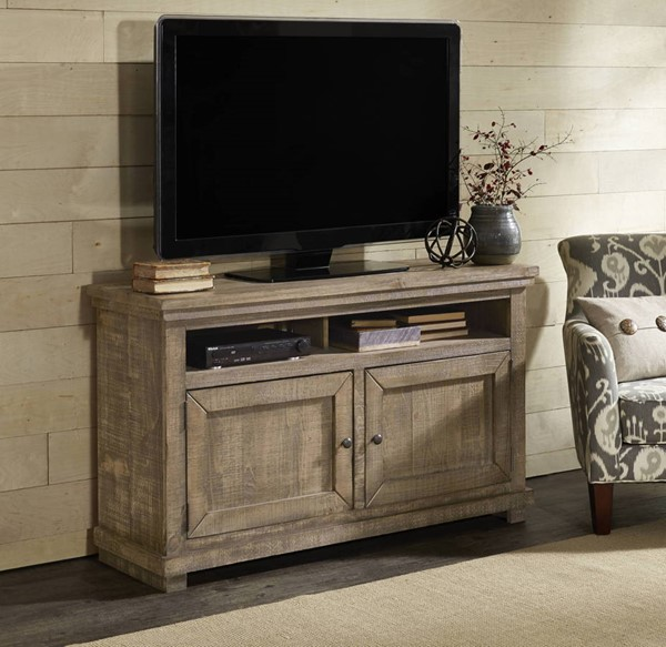 Progressive Furniture Willow Weathered Gray 54 Inch Console PRG-P635E-54