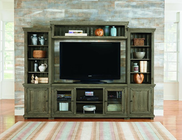 Progressive Furniture Willow Wall Units with TV Stand PRG-P635E-20-ENT-VAR