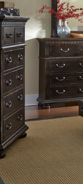 La Cantera Traditional Tobacco Solid Wood Chest PRG-P665-14