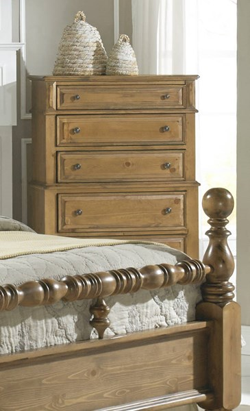 Surrey Bay Traditional Dune Wood MDF Chest PRG-P698-14