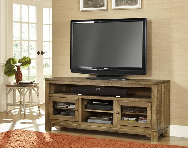 Braxton Gate Transitional Driftwood  64 Inch Console PRG-P703-64