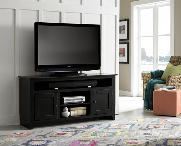 Progressive Furniture Rio Bravo Black 58 Inch Entertainment Console PRG-P705-58B