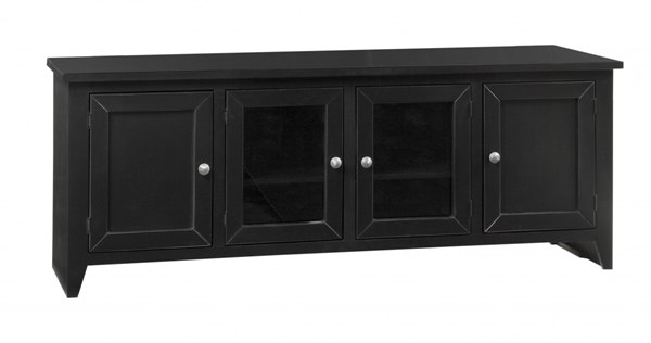 Metro Transitional Midnight Wood 74 Inch Console PRG-P710-79