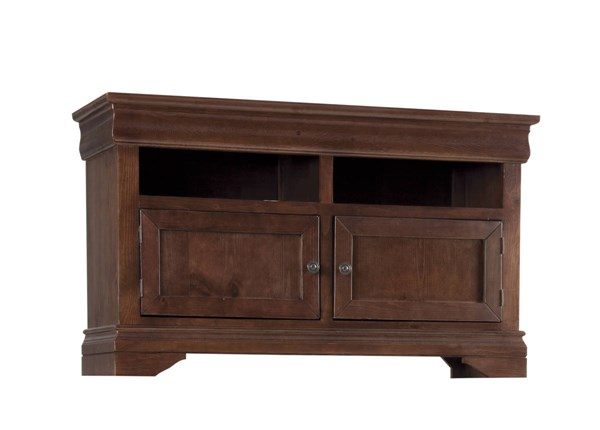 Coventry Traditional Auburn Cherry Wood 54 Inch Console PRG-P712-70