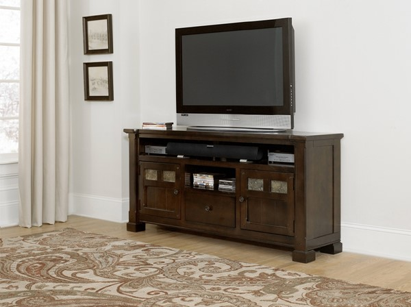 Progressive Furniture Telluride Mesa Brown 64 Inch Console PRG-P730-64