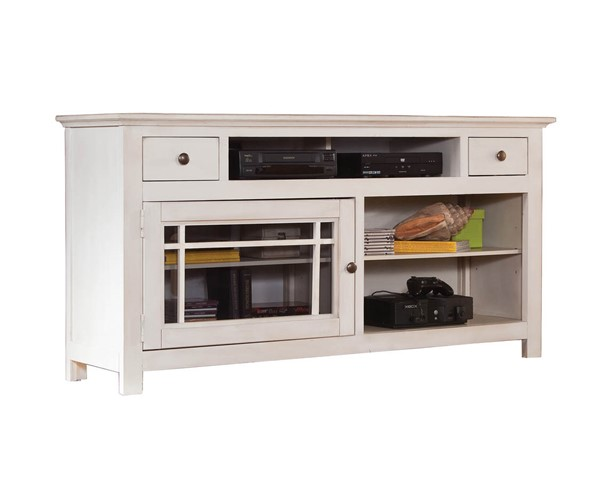 Progressive Furniture Emerson Hills White 64 Inch Console PRG-P754-64W