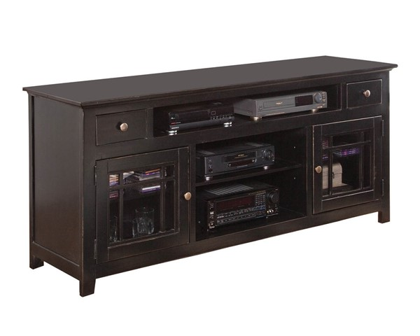 Progressive Furniture Emerson Hills Black 74 Inch Console PRG-P754-74B