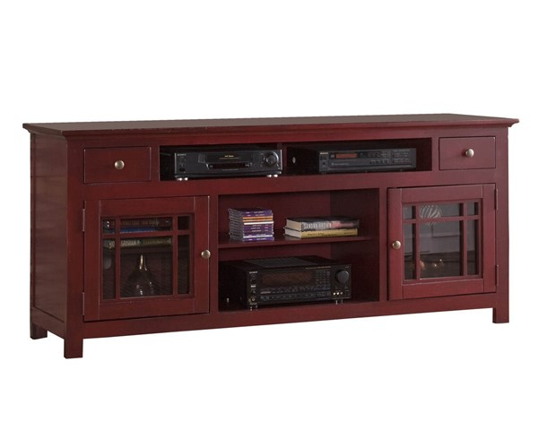 Progressive Furniture Emerson Hills Red 74 Inch Console PRG-P754-74R