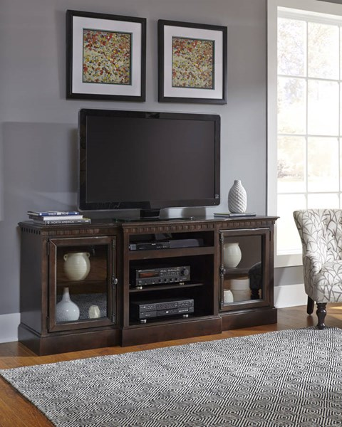 Progressive Furniture Andover Court Tobacco 74 Inch Console PRG-P765-74