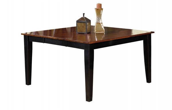 Cosmo Transitional Cherry Black Rubberwood Dining Table Top PRG-P809-10T