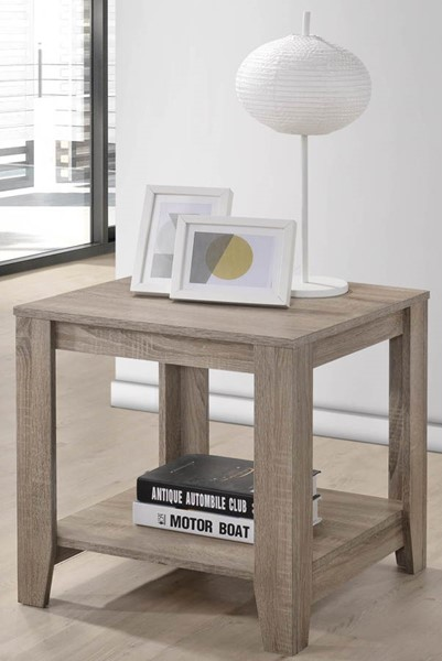Progressive Furniture Barry Gray End Table PRG-T177-04