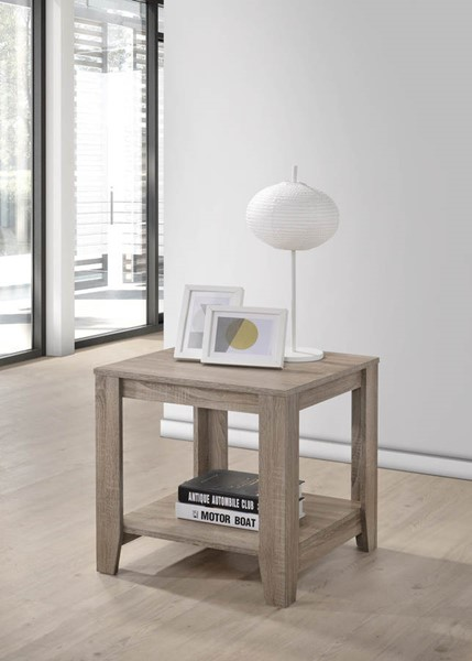 Progressive Furniture Barry Dark Taupe End Table PRG-T177-04