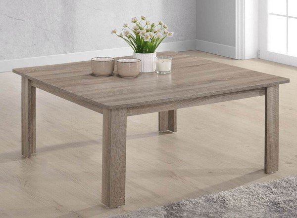 Progressive Furniture Barry Dark Taupe Square Cocktail Table PRG-T177-48