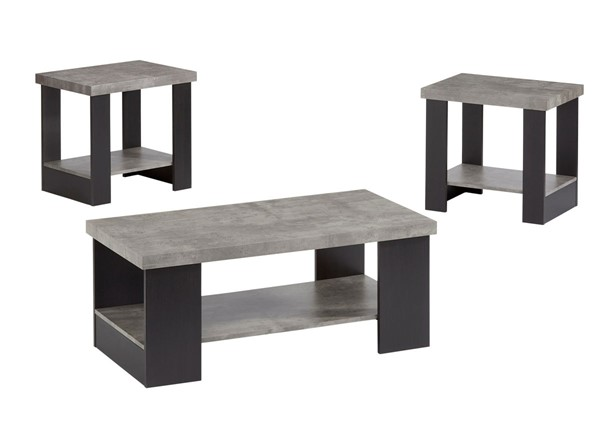 Progressive Furniture Kayson Gray 3 In 1 Pack PRG-T247-95