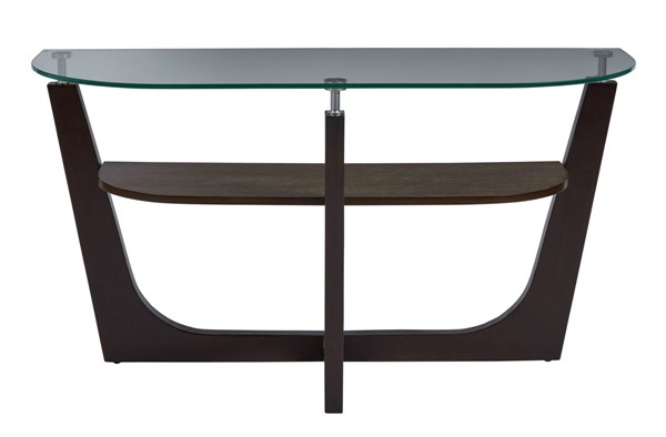 Progressive Furniture Four Points Brown Sofa Table PRG-T332-05