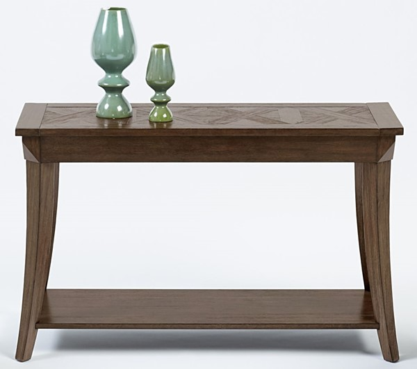 Progressive Furniture Appeal l Brown Sofa Console Table PRG-T357-05