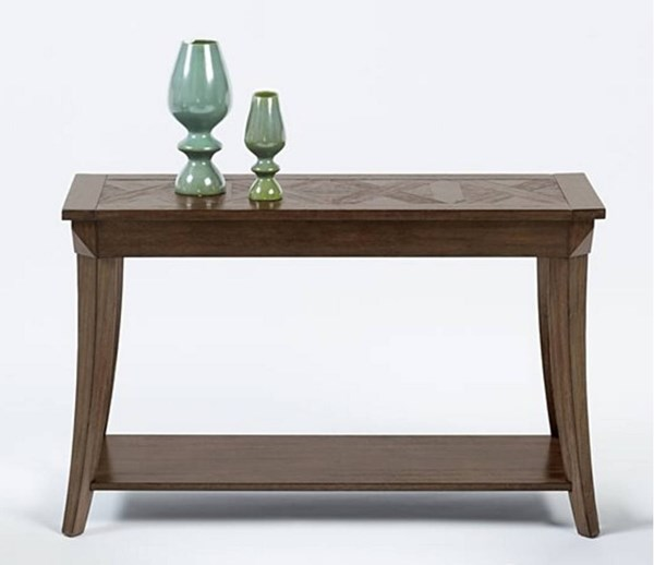Appeal I Transitional Dark Poplar Solidwood MDF Sofa Console Tables PRG-T357-CON-VAR
