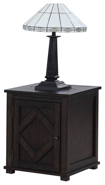 Progressive Furniture Foxcroft Chair Side Cabinet PRG-T437-29