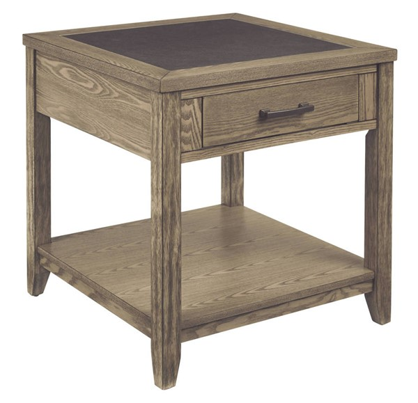 Progressive Furniture Sun Valley Tan Square End Table PRG-T466-04