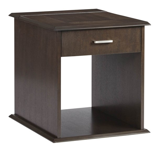 Progressive Furniture Xanadu Dark Espresso Rectangle End Table PRG-T474-04