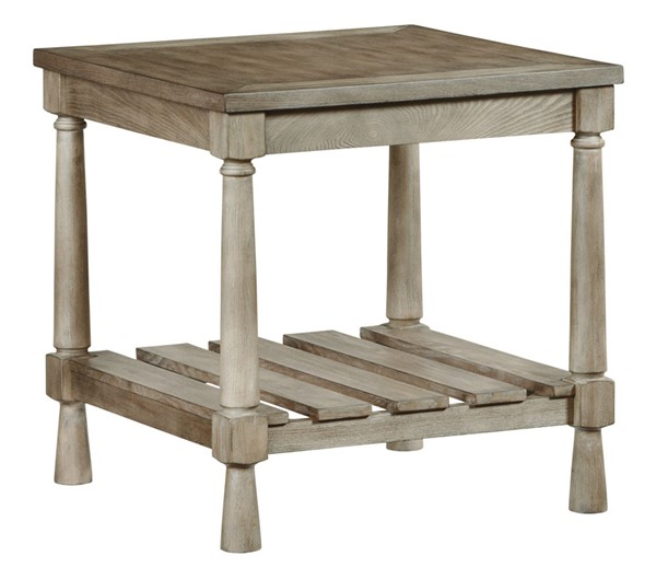 Progressive Furniture Chastain Park Weathered Ash End Table PRG-T529-04