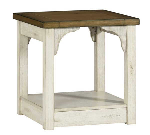 Progressive Furniture Wellington Place White End Table PRG-T540-04