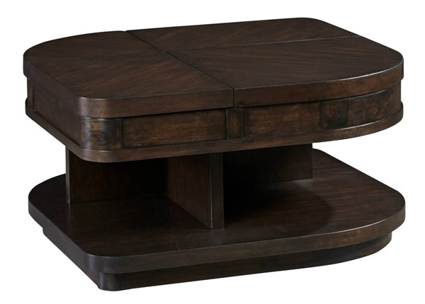 Progressive Furniture Grove Park Brown Wedge Double Lift Cocktail Table PRG-T631-03