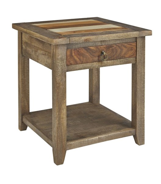 Progressive Furniture Passport Transitional End Table PRG-T900-04