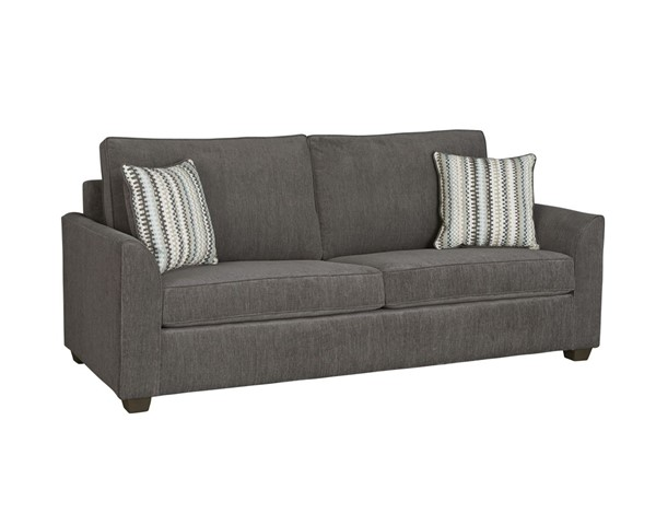 Progressive Furniture Remi Contemporary Charcoal Queen Size Sleeper Sofa PRG-U204-QS11217