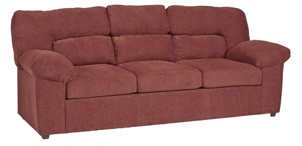 Progressive Furniture Duke Hickory Red Sofas PRG-U207-SF-VAR