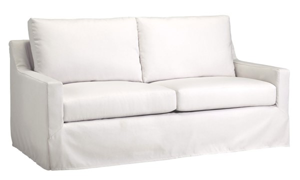 Progressive Furniture Sophie Transitional Ivory Slip Covered Sofa PRG-U210-SF12205