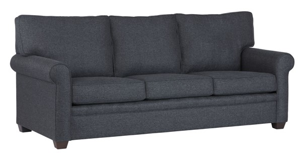 Progressive Furniture Baxter Transitional Navy Revolution Sofa PRG-U270-SF11969