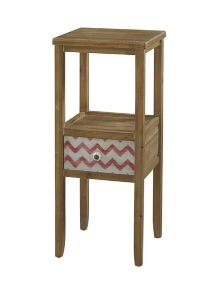 Squiggly Dee Collection Classic Drftwood Accent Table PWL-111-269